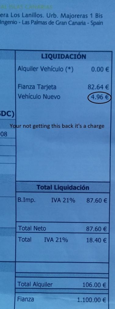 deposit charge